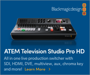 Blackmagic ATEM Television Studio Pro HD