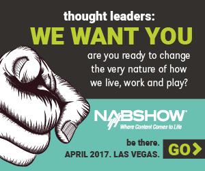 NAB Show 2017 Banner 2