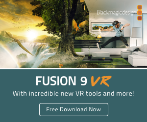 Blackmagic Fusion 9