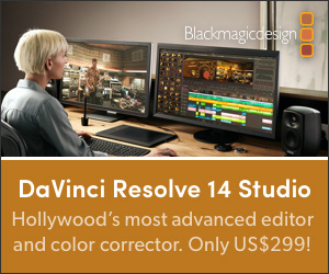 Blackmagic DaVinci Resolve 14 Studio
