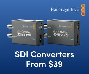 Blackmagic Mini Converters