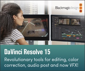 Blackmagic DaVinci Resolve 15