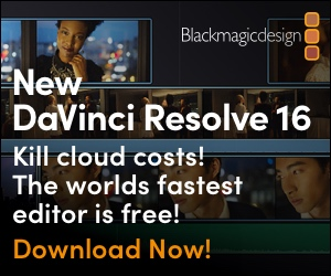 Blackmagic DaVinci Resolve 16
