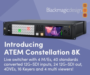 Blackmagic ATEM Constellation 8K