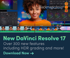 Blackmagic DaVinci Resolve 17