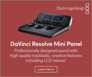 Blackmagic - Davinici Resolve - Mini Panel