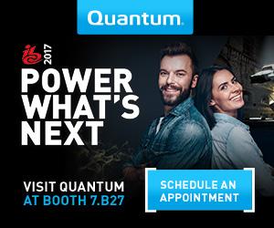 Quantum Banner - IBC 2017 - Banner 1