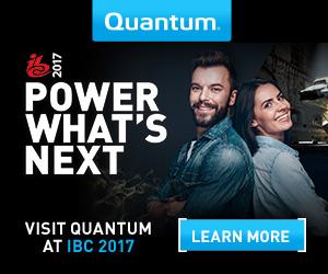 Quantum Banner - IBC 2017 - Banner 2