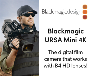 Blackmagic - URSA Mini 4K