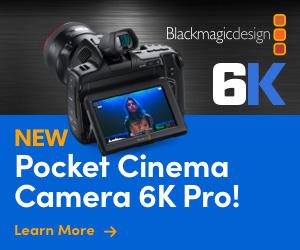 Blackmagic PCC 6K Pro