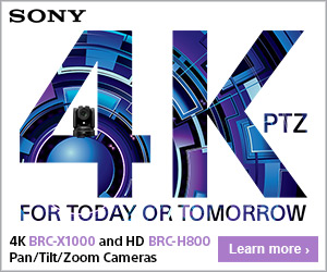 Sony BRC PTZ Camera