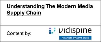 Vidispine - Understanding The Modern Media Supply Chain