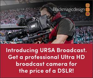 Blackmagic URSA Broadcast