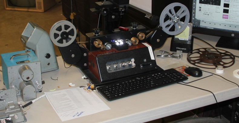 The station made the corner across from The Vault set in its basement into the film transfer area.
