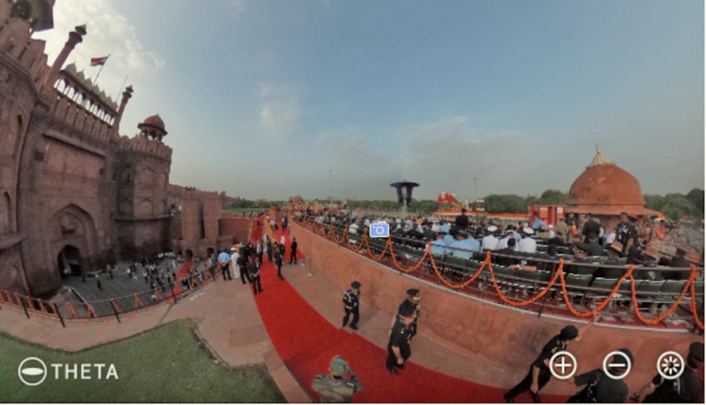 Figure 1: NDTV Independence Day Celebration.
