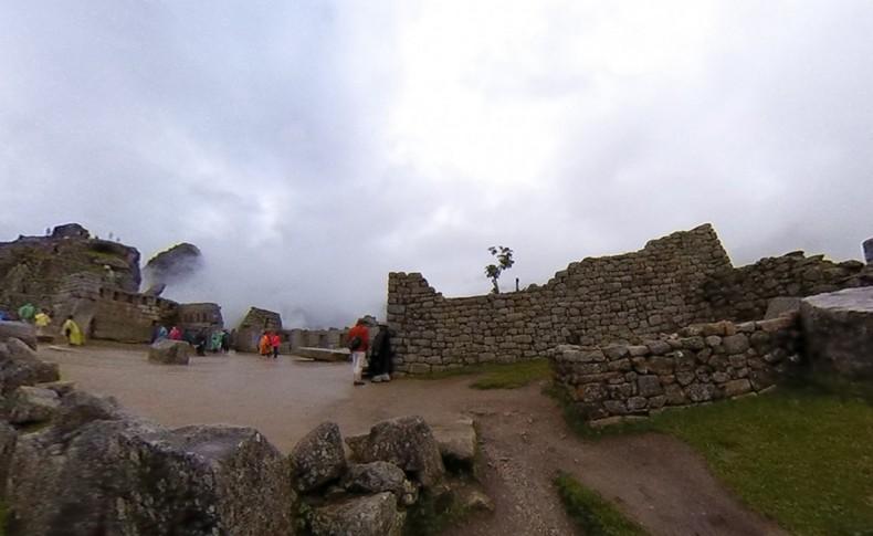 Figure 10: Reverse View of Machu Picchu.