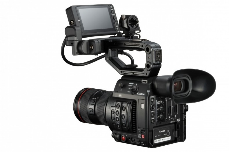 The C200 offerrs RAW 4K recording to CFast cards.
