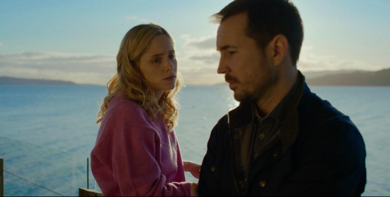 Figure 5: Sophie Rundle as Emily and Martin Compston as Dan, on the deck.