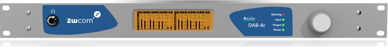 The DAB-4c assures flexibility in expanded networks and transmission robustness.