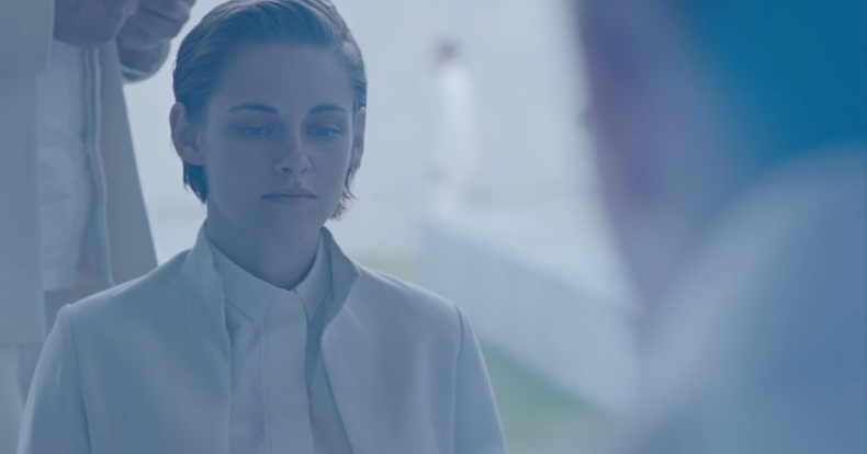 It's important to recognize the advantages and disadvantages of working with film lenses in a digital environment. Vintage film lenses typically look soft and lack good contrast, and so may infuse a dreamlike quality. In this screenshot from Ridley Scott's Equals (2015), the coatings have been stripped from a film-era Zeiss Super Speed, yielding a low-resolution, desaturated image, with plenty of flare - just what was needed to convey the feeling of a future sci-fi world.