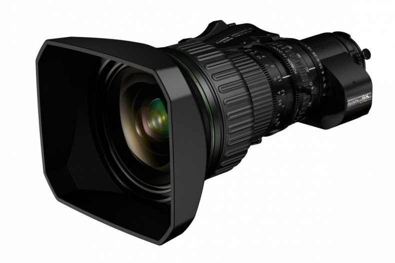 The new 2/3 in zoom resolves to 4K in a compact package.