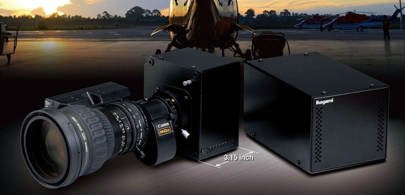 The Ikegami HDL-F3000 operates to 0.0068 lx in normal mode, 0.000057 lux in frame accumulation mode.