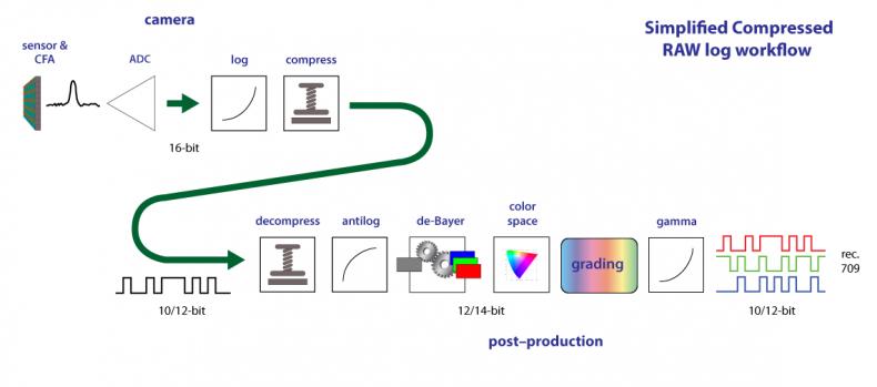Sample RAW workflow.