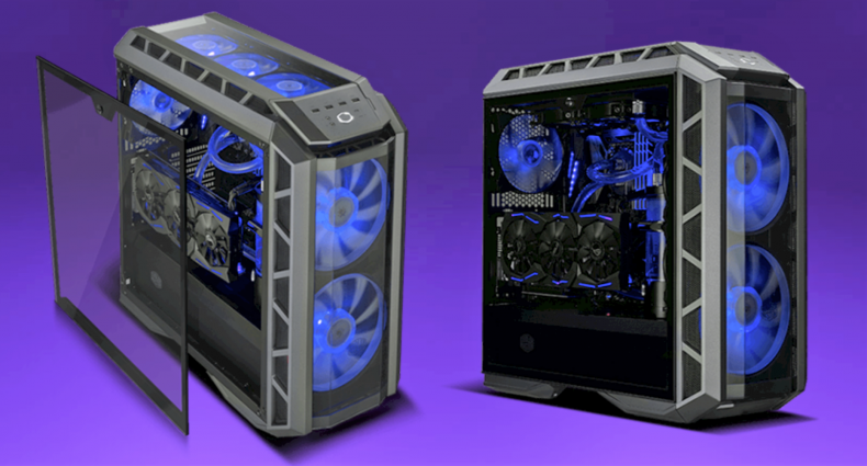 Figure 1: Cooler Master Enclosure. Courtesy Cooler Master.