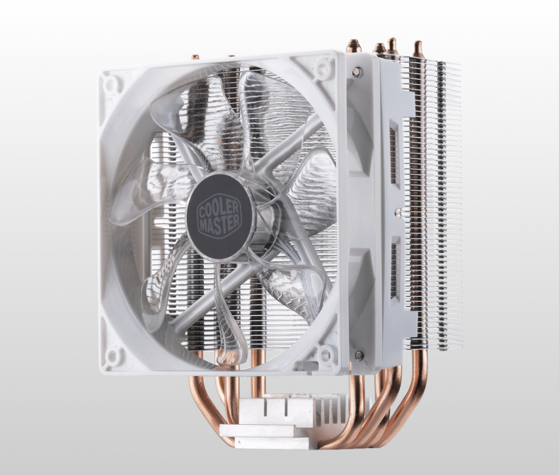 Figure 2: Cooler Master Air Cooler. Courtesy Cooler Master.