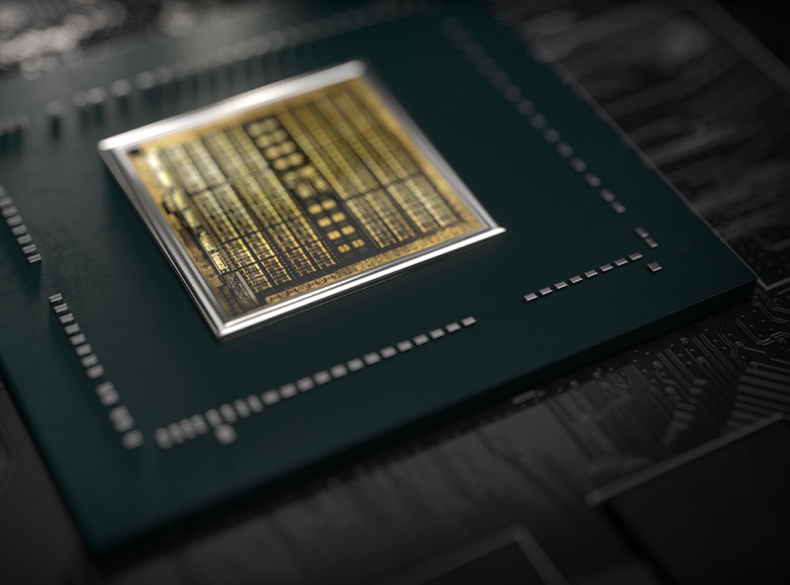 Figure 7: GPU Chip Courtesy Nvidia.