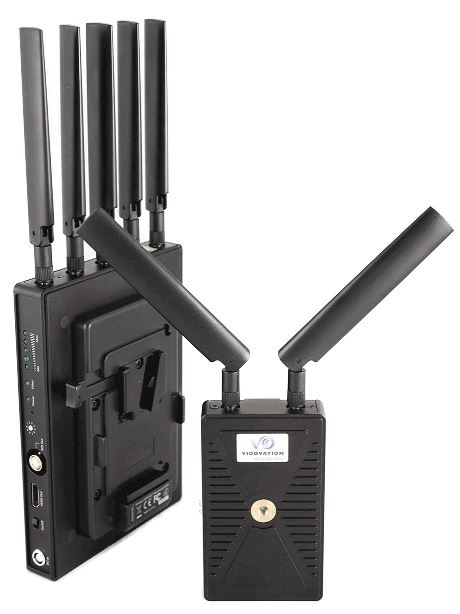 The VidOlink Reacher has no compression or latency.