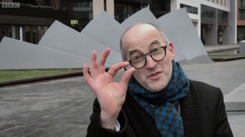 Broadcasters' use of the iPhone for non-ENG applications has been notably more modest. The BBC series Secrets of the Super Elements with Mark Miodownik in 2017 was said to have been shot entirely with mobile phones.