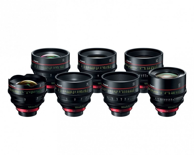 The 20mm lens complements the current range of Cinema EOS prime lenses.