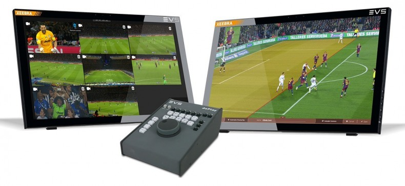 EVS Xeebra video refereeing system uses machine learning technology