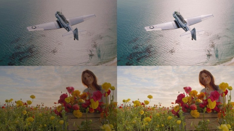 Figure 3. These images illustrate Dolby Vision High Dynamic Rate (HDR). The end-to-end HDR solution offers 21-stop dynamic range.