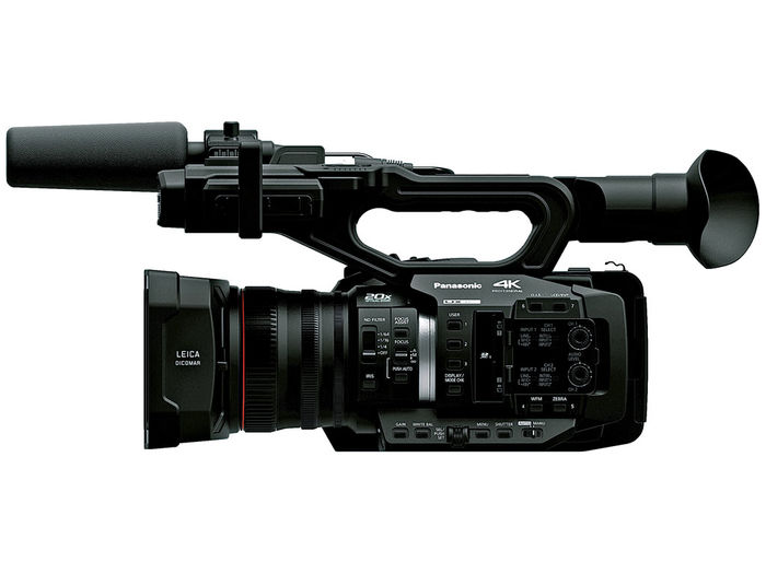 The AG-UX180 is the premium model in the 4K UX Professional Camcorder Series from Panasonic.