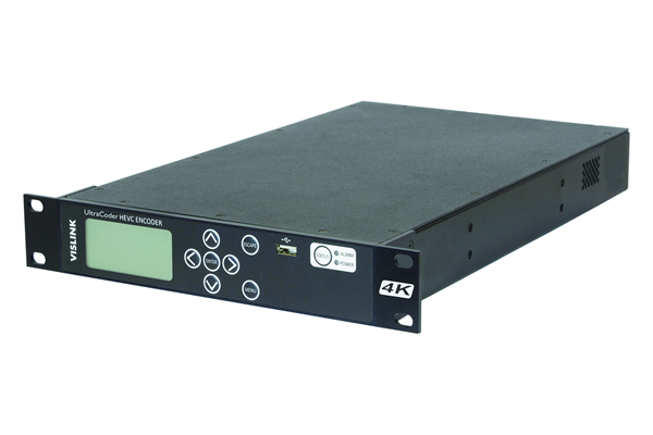 The Vislink UltraCoder is a H.265 hardware encoder.