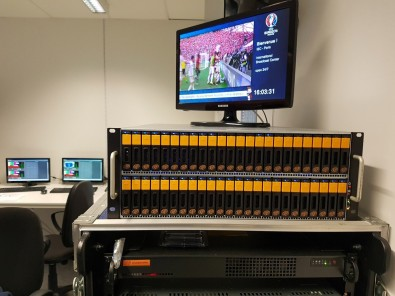 Ardis Technologies' microDDP10GbE shared storage solution has been used at several sporting and festival events.