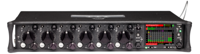 The Sound Devices 688 mixer/recorder provides dual automixing algorithms; MixAssist and Dugan automixing. Either are available via menu selection.