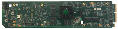 Cobalt Digital has unveiled its 9904-UDX-4K-12G UHD 12G/3G/HD/SD-SDI up/down/cross converter; designed for both openGear frames (pictured) and Cobalt's BBG-1000 Series stand-alone units.