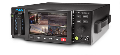 Ki Pro Ultra 12G multichannel HD recorder.