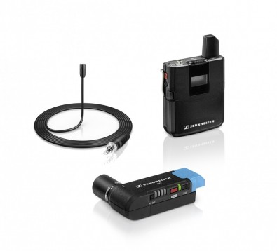 Sennheiser now offers the AVX wireless microphone system, designed for use with DSLR cameras.