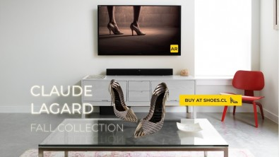 Shopping is a perfect example of augmented television. Amazon offers an application that permits the consumer to place life-like product images into the buyer's home. Both color and 3-dimensionality is retained while the buyer moves the product around the floor-space. Click to enlarge.