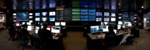 A Level Three control room. Headquartered in Broomfield,<br />CO, Level Three is one of only six Tier 1 Internet providers <br />in the world.