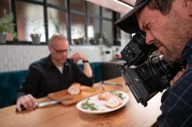 "Veteran cinematographer Lamar Owen used Panasonic VariCam LT and AU-EVA1 cameras for the Food Network's new ""Good Eats: The Return."""