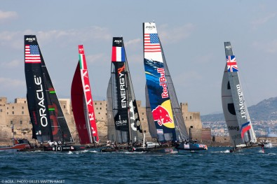 High profile events like the Americas-Cup race have been streamed live and broadcast on social media with WireCast Gear.