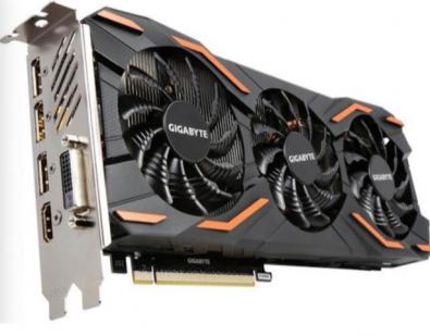 Figure 2: Gigabyte discrete GPU.
