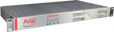 As part of the NAB live demo, an Artel InfinityLink IL6000 broadcast media transport chassis will provide the Ethernet fiber links between the Artel and Wheatstone booths.