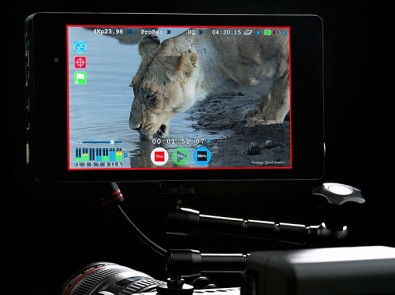 Atomos, storage philosophy is to let customers buy their own media,<br />including low-cost hard disk drives.