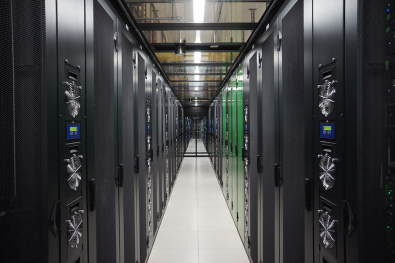 A new 1,000 sq. ft. Data Center and approximately 366 floor-to-ceiling equipment racks stores and distributes the content (and metadata) internally.